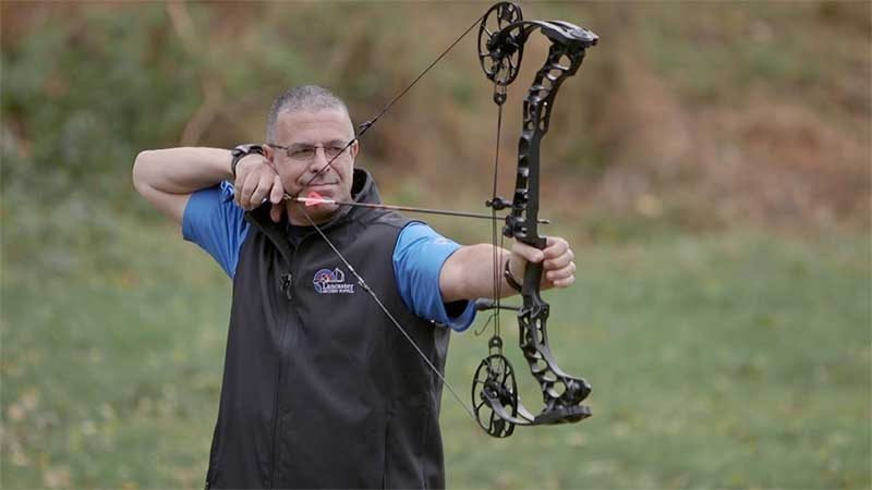 guy with compound bow