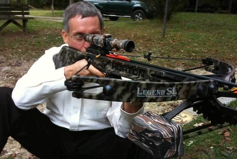 guy with crossbow