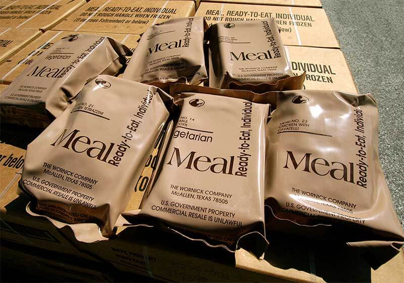 government MREs